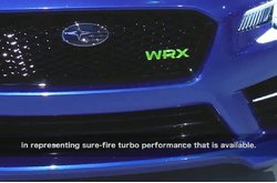 Video Subaru WRX New York 2013