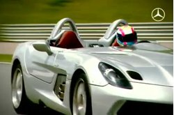Video Mercedes-Benz SLR Stirling Moss Test
