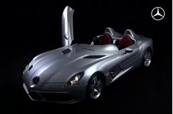 Video Mercedes-Benz SLR Stirling Moss Trailer