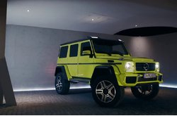 Vídeo Mercedes-Benz G 500 4x4² Concept Trailer