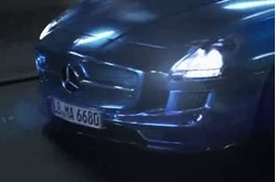 Video Mercedes-Benz SLS AMG Electric Drive Spot