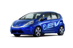 Fotos de coches Honda FIT EV Concept