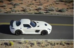 Mercedes-Benz SLS AMG Black Series Trailer