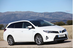 Fotos coches Toyota  Toyota  Auris Touring Sports Hybrid Advance