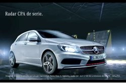Mercedes-Benz Clase A Spot Performance
