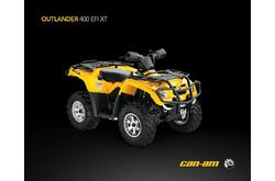 Fotos motos Can-Am Outlander 400 EFI XT