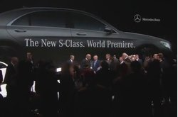 Mercedes-Benz Clase S Debut