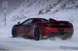 McLaren MP4-12C Spider Nieve
