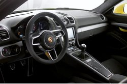 Vídeo Porsche Cayman GT4 2015 Interior