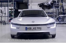 Video Volkswagen XL1 Producción