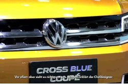 Video auto Volkswagen CrossBlue Coupe