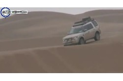 Video Land Rover Discovery Conducción Offroad Desierto
