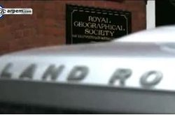 Video Land Rover Discovery Royal Geographical Society
