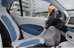 smart fortwo DCT 2015 Interior