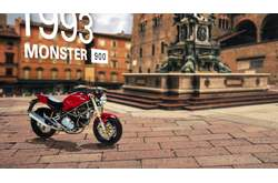 Video Ducati Monster 821 Historia