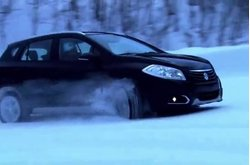 Video Suzuki S-Cross Test Nieve