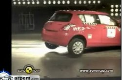 Video Suzuki Swift Crash Test