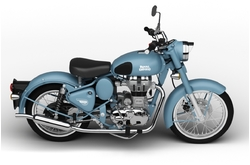 Royal Enfield Classic 500 Squadron Blue