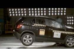 Video Chevrolet Trax Crash Test