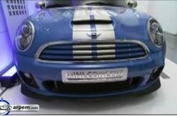 Video MINI Coupé Concept Estático