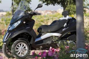 Prueba PIAGGIO MP3 500 LT BUSINESS