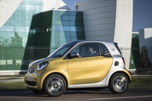 El smart fortwo electric drive, disponible desde 23 302 €