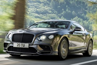 Continental GT Supersports 2017: el Bentley más rápido y potente