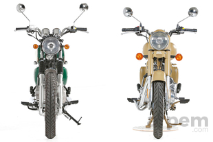 Pruebas de motos Comparativa <br> Mash Five Hundred 400 & <br> Royal Enfield Classic Desert Storm