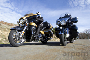 Comparativa <br> Indian Roadmaster &<br> Harley-Davidson Road Glide Ultra