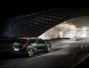 Citroën DS3 Racing Gold Mat, 202 caballos negro y oro