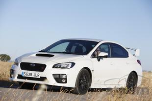 Prueba SUBARU WRX STI