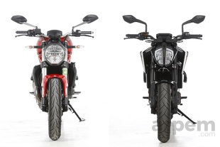 Comparativa <br> Ducati Monster 821 & <br> KTM 790 Duke