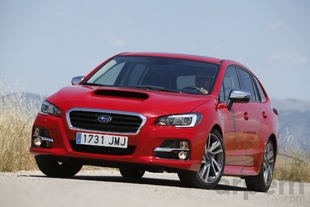 Prueba SUBARU LEVORG