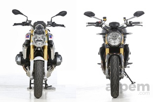 Comparativa <br> BMW R 1250 R & <br> Ducati Monster 1200 S