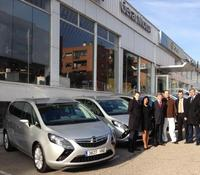 Opel entrega 120 Zafira Tourer a Japan Tobacco International