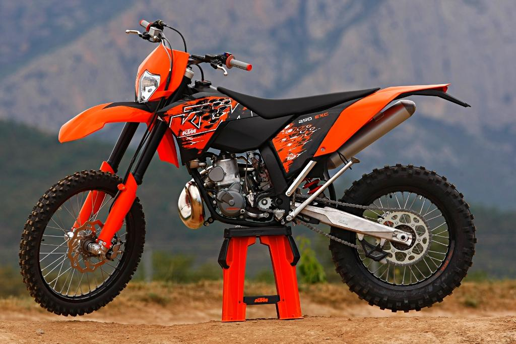 KTM 250 EXC Pictures and Photos