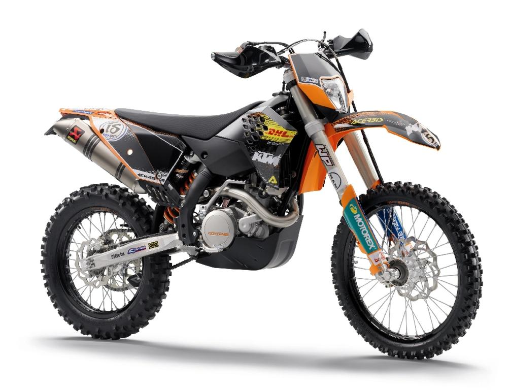 for 2007: the 450 EXC and the 525 EXC, both 50-state street-legal.