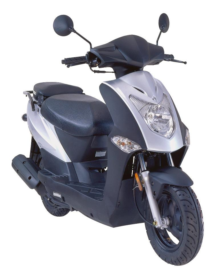 Kymco via proposal one version sport de sees Agility 50 ET 125 en rouse de