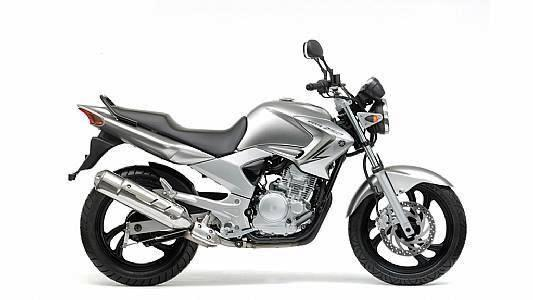 moto yamaha ybr 250 diversion