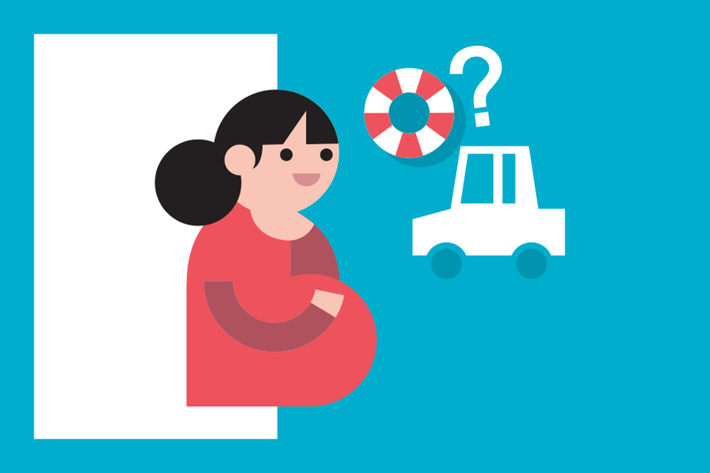 ¿Sabías que... si estás embarazada hay aseguradoras que te ofrecen ayuda?