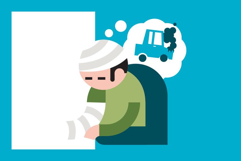 ¿Sabías que... si tienes un accidente hay seguros que te pagan un psicólogo?