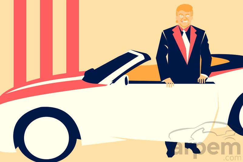 ¿Cuánto paga Donald Trump por el seguro de sus coches de lujo?