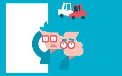 ¿Sabías que… si chocas contra el vehículo de un familiar tu compañía no le reparará los daños?
