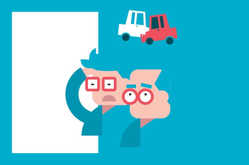 ¿Sabías que... si chocas contra el vehículo de un familiar tu compañía no le reparará los daños?