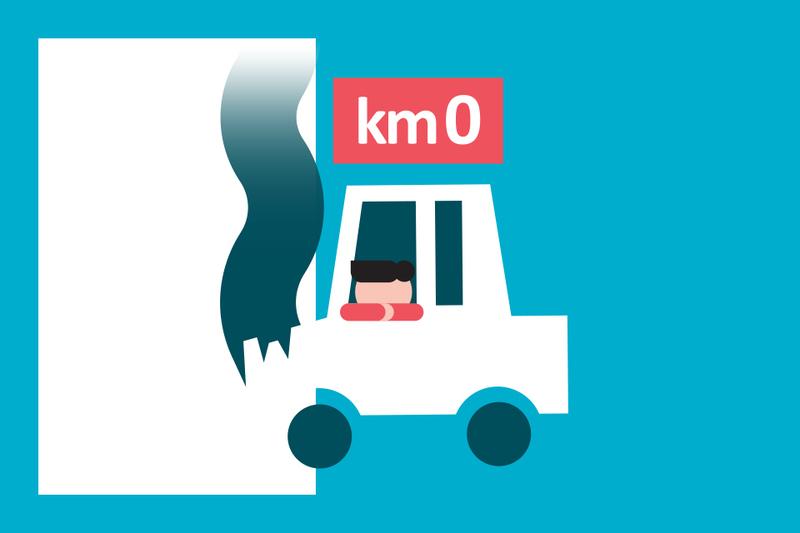¿Sabías que... si compras un vehículo de km 0 las aseguradoras no te indemnizan igual que si fuera nuevo?