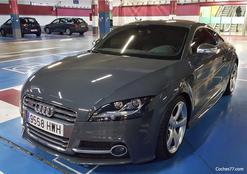 ¿Cuánto cuesta el seguro del Audi TTS Competition de Neymar?