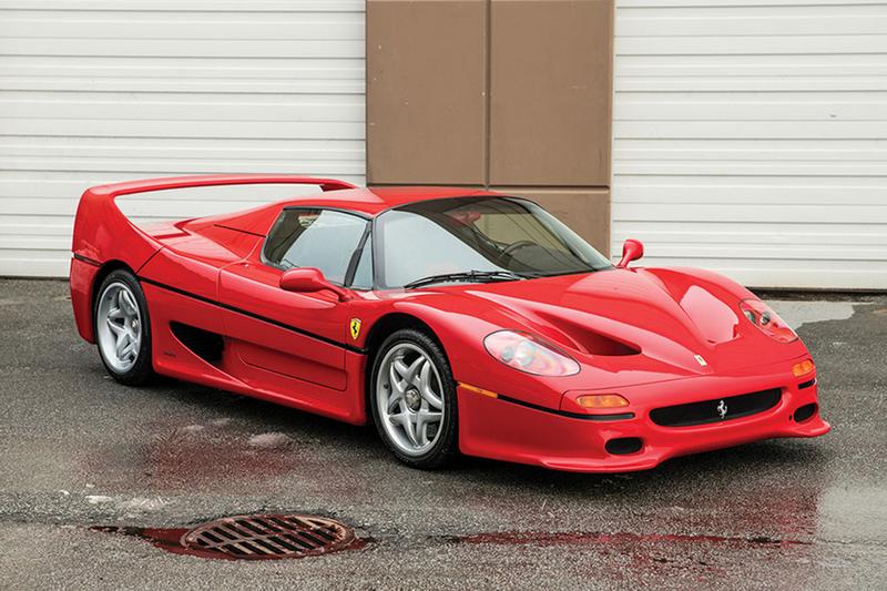 Mike Tyson podría asegurar a todo riesgo su exclusivo Ferrari F50 por 1473 €