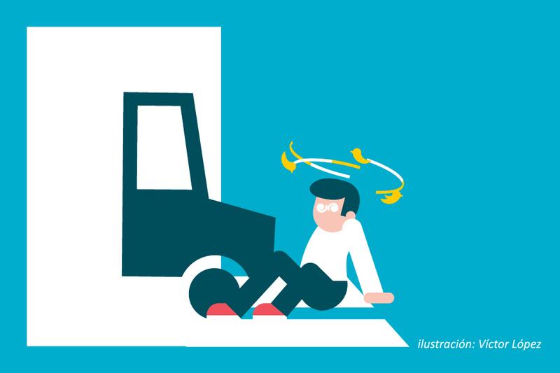 ¿Sabías que... si sufres un atropello hay seguros de coche que te ayudan a reclamar los daños?