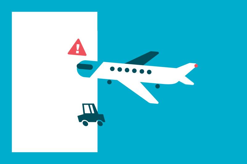 ¿Sabías que... tu seguro de coche no cubre los accidentes en puertos y aeropuertos?