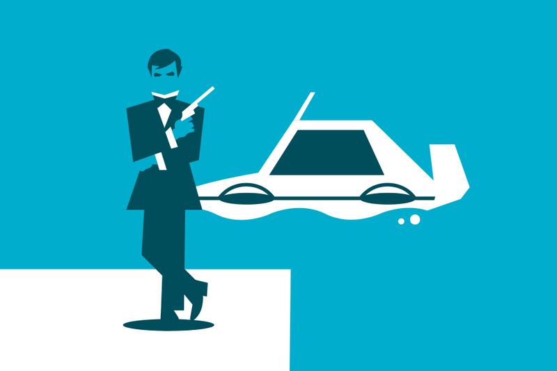 Roger Moore: licencia para asegurar coches míticos